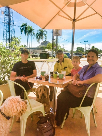 Al, Vicky, Rob and Jared